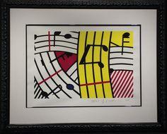 Roy Lichtenstein, Composition IV (Musical Notes), 1995, Soho Contemporary Art