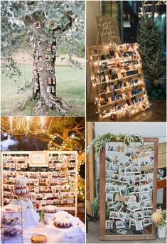 Creative Polaroid Wedding Decoration Ideas for Your Reception