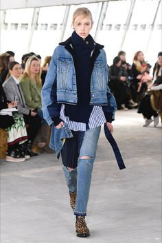 Sfilata Sacai Parigi - Collezioni Autunno Inverno 2018-19 - Vogue