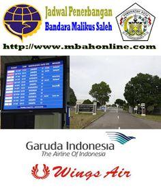 Jadwal Penerbangan Bandara Malikus Saleh | Mbah Online
