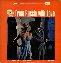 James Bond - From Russia With Love: Original Motion Picture Soundtrack on Limited Edition Import LP