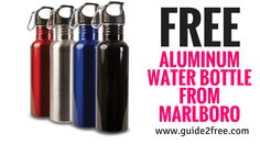 FREE Aluminum Water Bottle from Marlboro Free Samples By Mail, Free Stuff By Mail, Get Free Stuff, Witch Hazel Uses, Aluminum Water Bottles, 1000 Life Hacks, Budgeting Money, Free Things, Diy Home Improvement