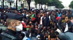 VIDEO. Paris : les migrants de Stalingrad évacués vers la banlieue