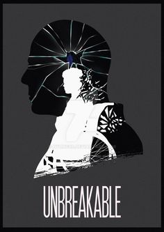 Unbreakable (2000)~ Minimal Movie Poster by Ruben (Hyung86) ~ M. Night Shyamalan Series #amusementphile