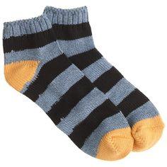 J.Crew Stripe ankle socks