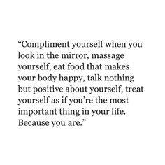 Self love isn't selfish.
