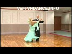 Arunas Bizocas & Katusha - Line Figure Combinations Of Ballroom Dancing - YouTube