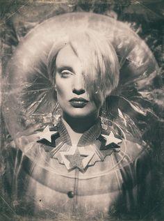 David Bowie, Sandrine Dulermo, Michael Labica, fashion Photography