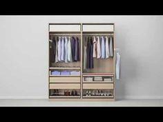 Simple PAX Kleiderschranksystem Kombinationen mit T ren IKEA