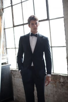 Groomsman option. I like the simpleness of the tux, will look good in pictures now and 20 years from now.