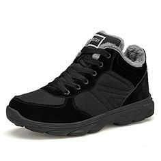 b6e9c9707a6 TORISKY Bottes Hiver Neige Imperméable Homme Femme Chaussures de Randonnée  Confortable Chaudes 36-46EU