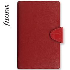 Filofax Calipso Compact Red