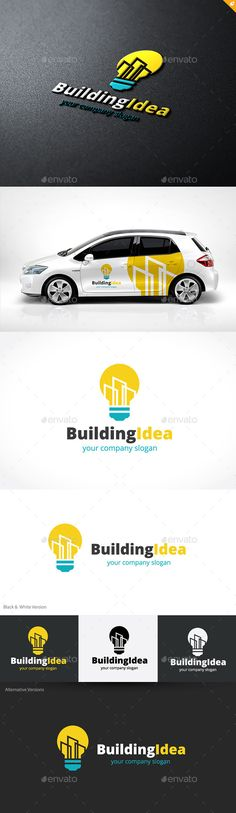 Building Idea by LayerSky Logo Template Features100% Scalable Vector Files Everything is editable Everything is resizable Easy to edit color / text Free fon