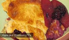 The Delia Smith Project (#79) from Eine Kugel Vanilla: Apple and Blackberry Pie