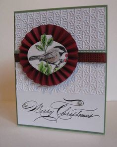 QFTD83 Beautiful Season Rosette by nancy littrell - Cards and Paper Crafts at Splitcoaststampers