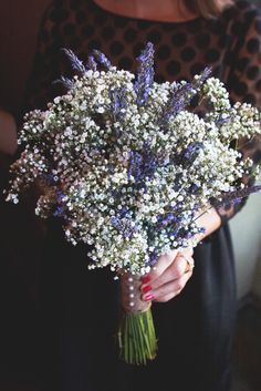 Lavender and Baby's Breath