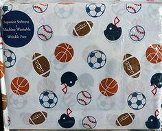Authentic Kids 4 Piece FULL Sheet Set Sports Footballs, Soccer Balls, Baseball Basketball Authentic Kids http://www.amazon.com/dp/B00RNE18FC/ref=cm_sw_r_pi_dp_RRE8ub0EVQSZB