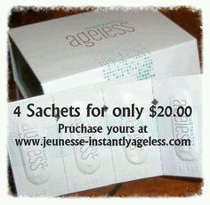 Instantly Ageless - Try it before you buy an the whole box!