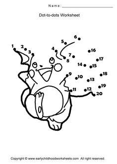 Dot to dot (Pokemon, Ninja Turtle)