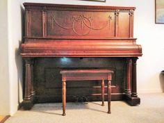Ivers & Pond upright piano, circa 1905