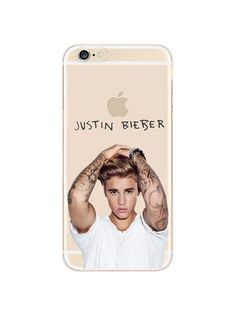 Famous singer Justin Bieber iPhone case made from soft-silicone. Compatible iPhone models: 5 / 5s / SE, 6 / 6s, 6 / 6s Plus, 7, 7 Plus Case protects your iPhone while the silky, soft-touch silicone fe