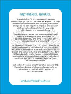 Printed on laminated, linen card stock. You get an Archangel cards included with our Archangel crystal bracelets, or they're available as a set of seventeen cards! Archangel Raguel, Archangel Cassiel, Archangel Prayers, Friend Of God, Angel Quotes, Angel Numbers, Angels Among Us, Angel Cards, Morning Prayers