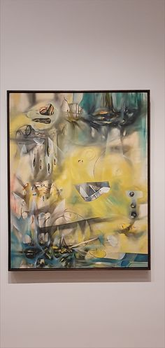 Roberto Matta, Here, Sir Fire, Eat!, oil on canvas. pic by Moma Collection, Oil On Canvas, Contemporary Art, Nyc, Fire, Painting, Painted Canvas, Contemporary Artwork, Painting Art