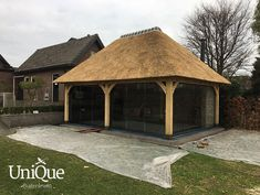 Tuinpaviljoen Erp 2 - UniQue Buitenleven Gazebo, Outdoor Structures, Cabin, House Styles, Unique, Home Decor, Kiosk, Decoration Home, Room Decor