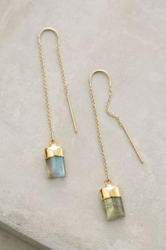 Quartz Sweeper Earrings - anthropologie.com #anthrofave