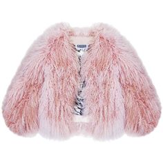 Florence Bridge - Matilda Jacket ($645) ❤ liked on Polyvore featuring outerwear, jackets, coats, leather jackets, pink leather jacket, genuine leather jackets, real leather jackets and pink jacket