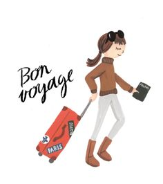 travel, bon voyage