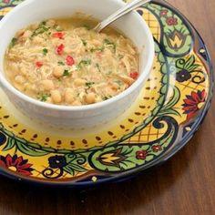 Crock Pot Chicken Green Chili (a true crock pot meal-- no pre-cooking!)