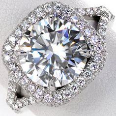 Design 2653 - Knox Jewelers - Minneapolis Minnesota - Halo Engagement Rings - Large Image