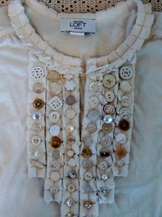 Sew on some Buttons!  -  http://summerlandcottagestudio.blogspot.com/2010_01_01_archive.html    (01.24.15)