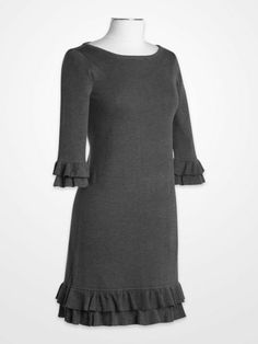Jessica Howard Gray Sweater Dress | K&G Fashion Superstore