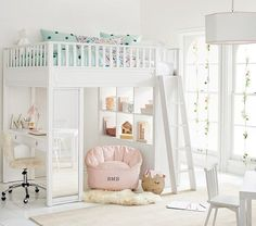 Shop Pottery Barn Kids' Isabelle Mermaid Kids Bedroom for girls room ideas. Find kids bedroom ideas and inspiration at Pottery Barn Kids. My New Room, My Room, Girl Room, Girls Surf Room, Bedroom Loft, Dream Bedroom, Bedroom Decor, Bedroom Ideas, Bed Ideas