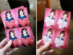Oh why, oh why did I not find this earlier! Such a cute idea for class room valentines!