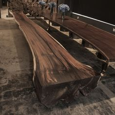 24 FT ROSEWOOD BENCH