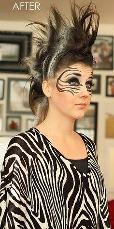 Die 18 Besten Bilder Von Zebras Zebra Face Paint Zebra Costume