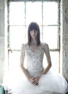 Wedding Gown Fashion: The Sophisticate Marchesa Bridal, Wedding Gowns, Dream Wedding, Tulle, Flower Girl Dresses, Bride, Minnesota, Magazine, Bracelet