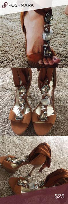 Bebe high heels size 10 New never worn bebe Shoes Heels