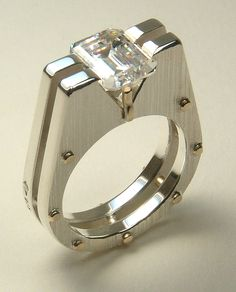 CZ STERLING SILVER SUPERSTRUCTURES FASHION RING, I have this ring and it is beautiful