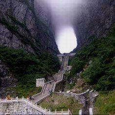 Zhangjiajie Heaven gate mountain