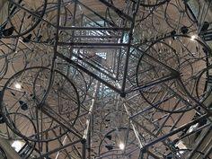 """Detail of Ai Weiwei's """"Very Yao"""" (2009–14),"""