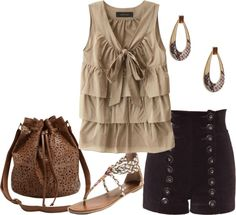 """""""Untitled #421"""" by blissful11 ❤ liked on Polyvore  Definitely not the shoes."""