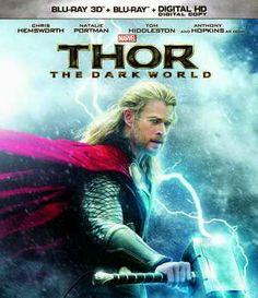 Thor: The Dark World Starring Chris Hemsworth on Blu-ray and DVD