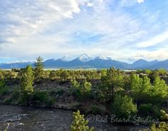 Photo Download, Colorado Mountain View and River, Buena Vista CO, Arkansas River, Landscape Photograph, Instant Download, Colorado Landscape