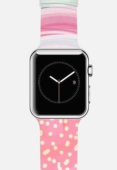 Mint Girly Pink Apple Watch Band | #tech
