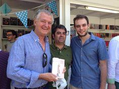 Firma de ejemplares en la Feria del Libro de Zaragoza. 06.06.2015 #Esbozers