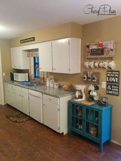 One kitchen - 3 very different makeovers all with the same cabinets.  http://www.hometalk.com/l/JIb